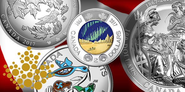 Royal Canadian Mint 2017 4th Quarter New Releases