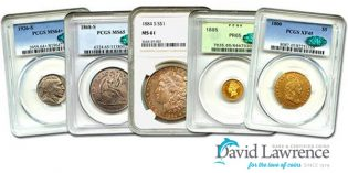 David Lawrence Rare Coins Internet Auction #958 Ends Sunday