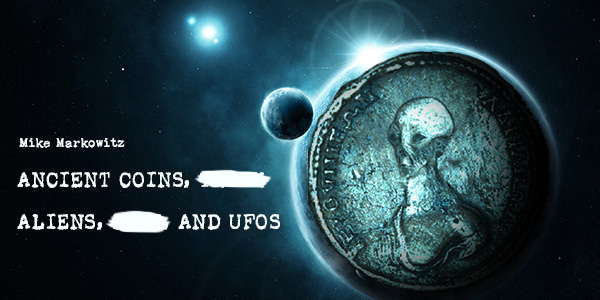 UFO Aliens on coins