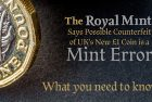 Royal Mint Says Possible Counterfeit of UK's New £1 Coin Is Mint Error