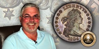 CoinWeek Podcast #65: Bruce Morelan Buys an 1804 Dollar – Audio