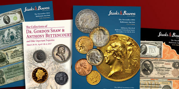 Stack's Bowers 2017 Baltimore Auction Suite of Catalogs
