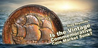 Classic US Coins – Is the Vintage Commemorative Coin Market Sunk?