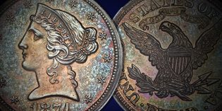Heritage Auctions – Seldom Seen Selections: Extremely Rare Copper 1875 Half Eagle