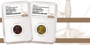 NGC Certifies Rare 1942 and 1943 Wrong Planchet Cents