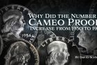 Modern US Coins – Why Did the Number of Cameo Proofs Increase from 1950 to 1964?