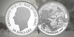 New Royal Canadian Mint Silver Coin Honors Dieppe 75th Anniversary