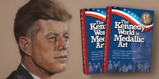 Whitman Offers Free JFK Book on Medal & Coin Art for President's 100th Birthday