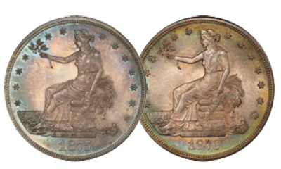 Legend Rare Coin Auctions Regency XXI Trade Dollars - Linda Collection