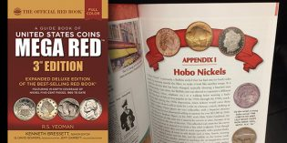 New 3rd Edition MEGA RED Features Great Depression Hobo Nickels