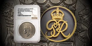 Rare British Pattern Crown Certified by NGC