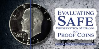 Evaluating Safe Preservation Methods for Proof Coins