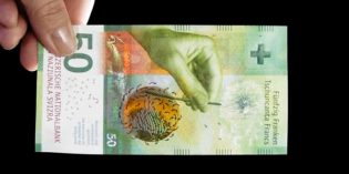 Swiss National Bank Releases New 20 Franc Note