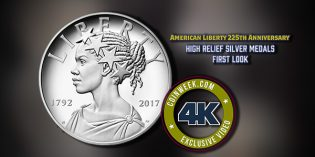 CoinWeek: American Liberty 225th Anniversary High Relief Silver Medals First Look – 4K Video