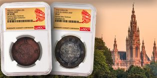 NGC Certifies Important 1910 and 1911 Chinese Coins Struck by the Vienna Mint