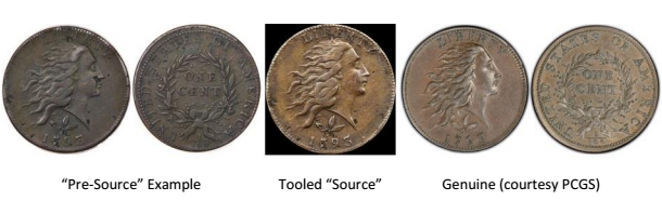 1793 S-5 Wreath Cent Counterfeit one page diagnostic image 2 - courtesy Jack Young, EAC