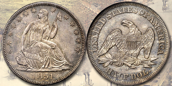 1851-O Half Dollar - Stack's Bowers