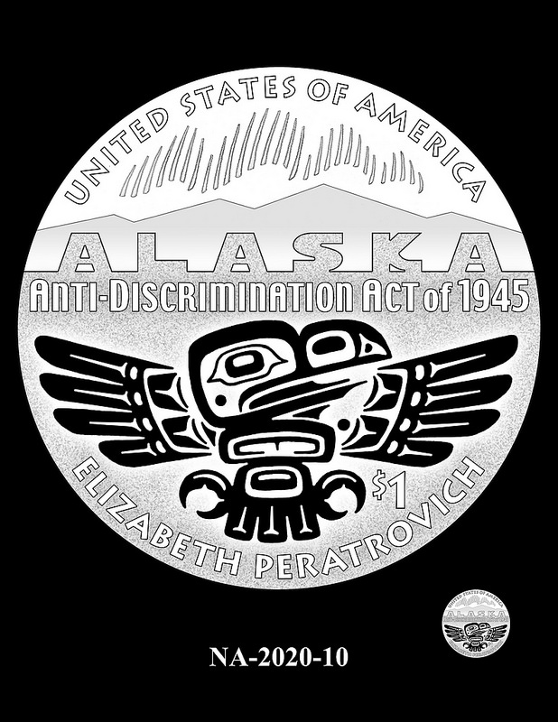 2020 Native American $1 coin design candidate. Image courtesy U.S. Mint