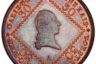 World Coin Profiles: Austria 1807 Copper 30 Kreuzer Coin