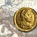 Gold Solidus of Magnus Maximus. Images courtesy Stack's Bowers Auction