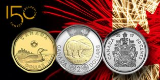 World Coin News – Canada 150 Commemorative Coins Now in Circulation