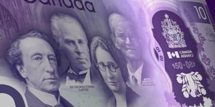 Bank of Canada Issues Commemorative $10 Banknote for 150th Anniversary of Confederation
