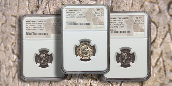 Roman Empire Coins - NGC Graded - Heritage Auctions