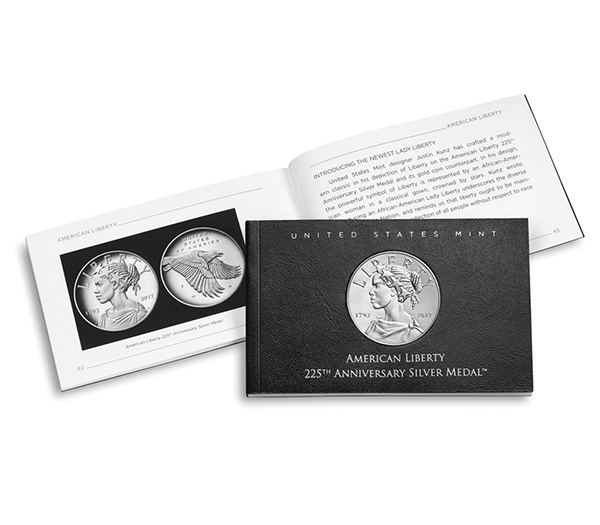 2017 United States Mint 225th Anniversary Silver Medal