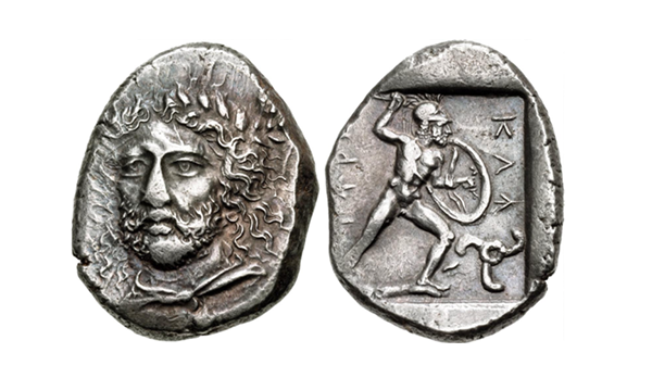 Dynasts of Lycia. Perikles. Circa 380-360 BCE. AR Stater.