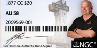 Pawn Star Rick Harrison to Sign NGC Labels