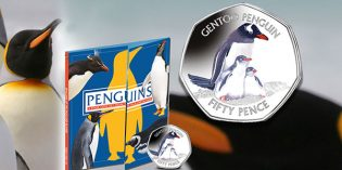 Penguins Back on New Falkland Islands Coin from Pobjoy Mint