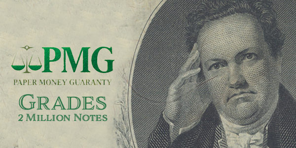 PMG 2 Millionth Note Certified
