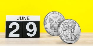 U. S. Mint Opens Sales for Uncirculated American Silver Eagle Coin June 29