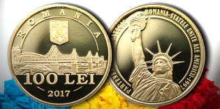 Modern World Coins – Romanian Gold Coin Commemorates US Partnership