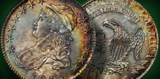 Finest Known 1819 Overton-108 Capped Bust Half Dollar at August ANA Auction