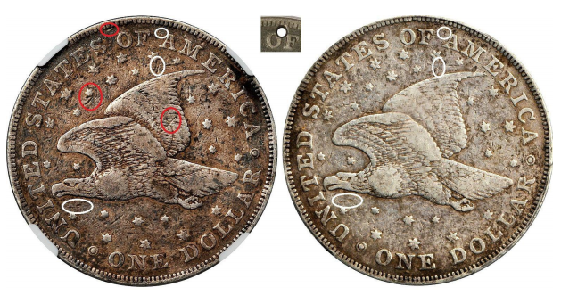 2013 auction example, reverse. Images courtesy Stack's Bowers Galleries