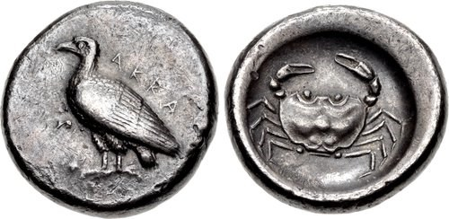 A didrachm from Acragas.
