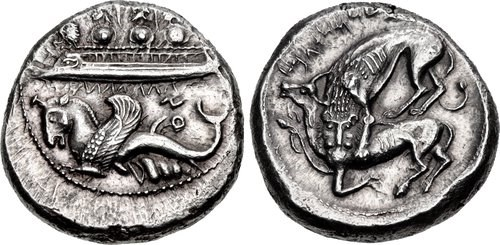 A shekel from Byblos