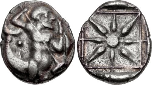 stater from Itanus on the island of Crete