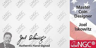 Joel Iskowitz Joins NGC Hand-Signed Labels Program