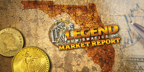 Legend Numismatics Market Report - Summer FUN 2017