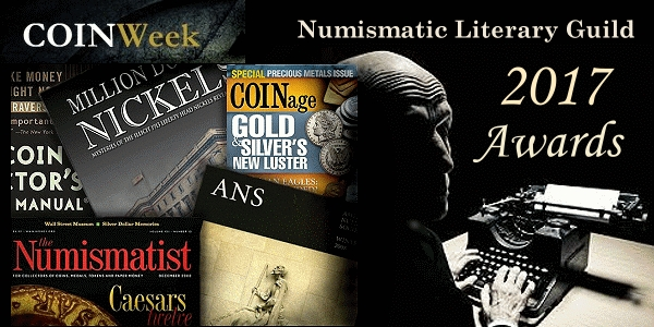 Numismatic Literary Guild 2017 Writers Awards