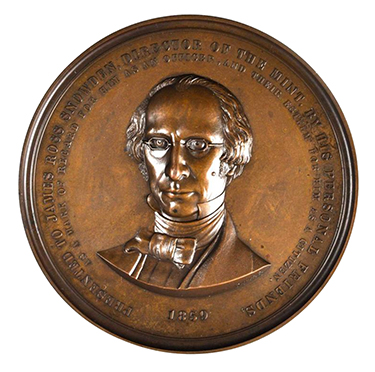 James Ross Snowden Medal - 1859
