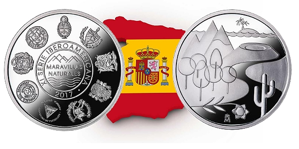 Mint of Spain Issues 11th Ibero-American Series Coin