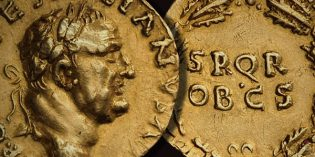 Possibly 2nd Known Ancient Roman Gold Aureus of Vespasian on MA-Shops