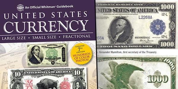 United States Currency - Whitman 2017