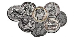 NGC Ancient Coins: Roman Silver Type Set