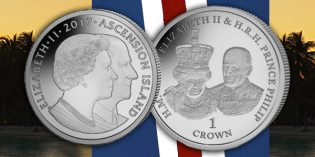 Celebrate Queen Elizabeth and Prince Philip's Years Together with New Coin from Pobjoy Mint