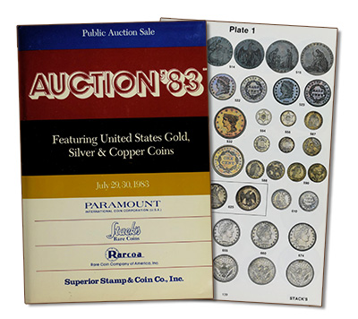 Auction '83 Catalog