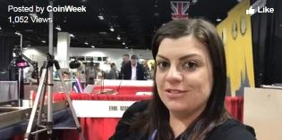 "Live at the ANA with CoinWeek – Talking with Andrea from ""The Coin Couch"""